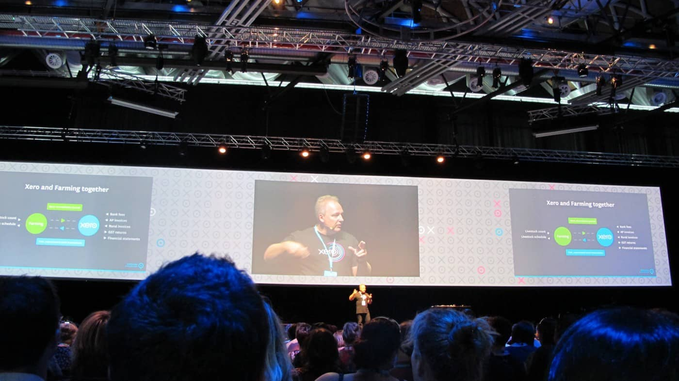 XeroCon Auckland 2014: Tech expo and Rod Drury's keynote featured image