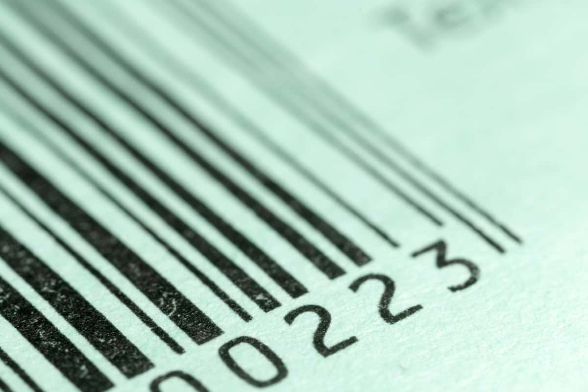 barcode formats