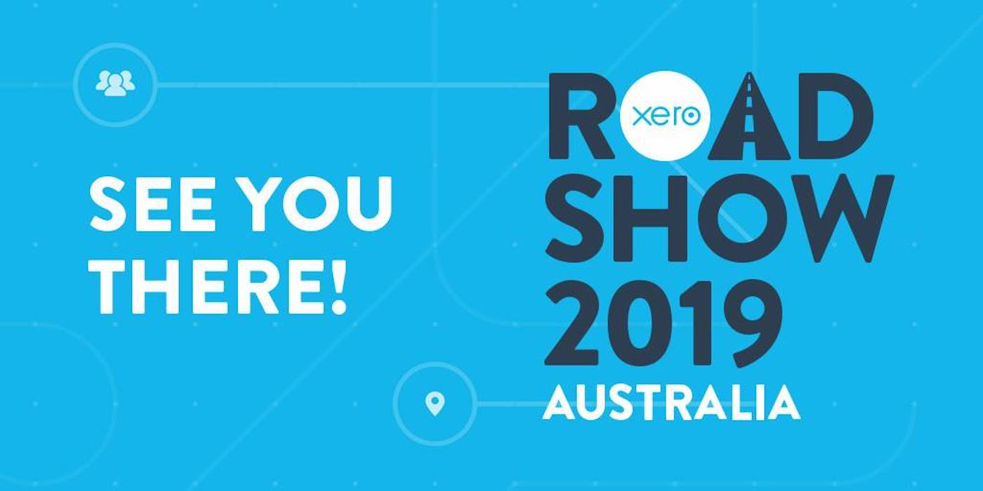See you at Xero Roadshow Australia 2019! featured image