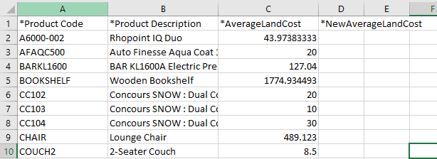 unleashed stock count