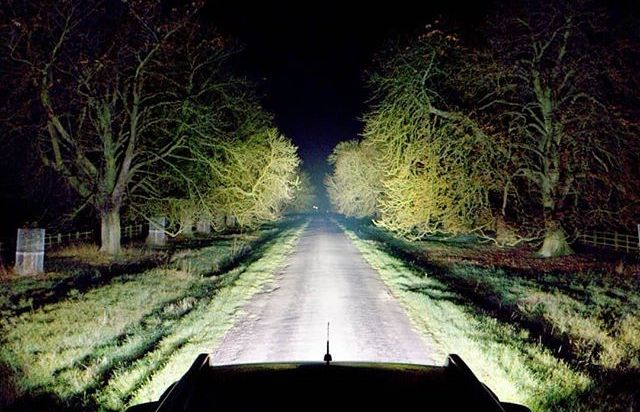 Lazer Lamps night
