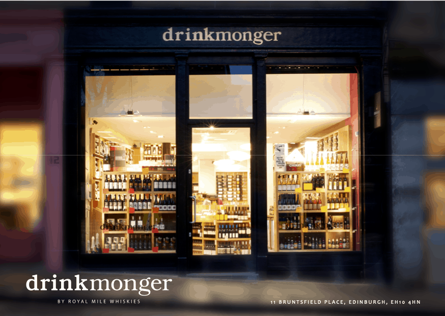 A Drinkmonger in Bruntsfield, Edinburgh