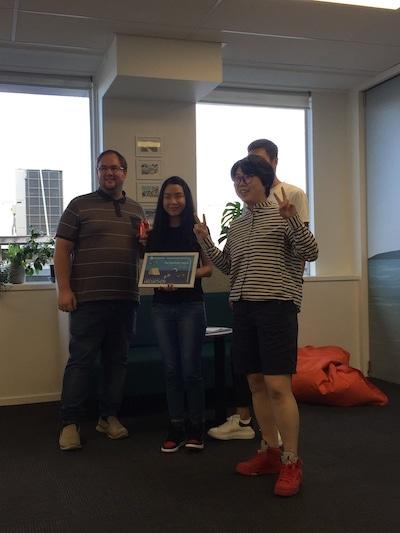 UNL hackathon 2019 winners width=