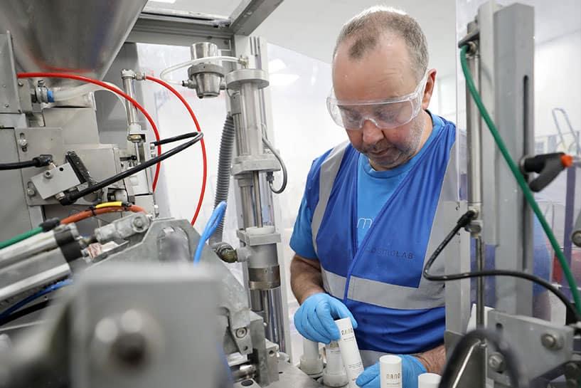 whitewash labs manufacturing