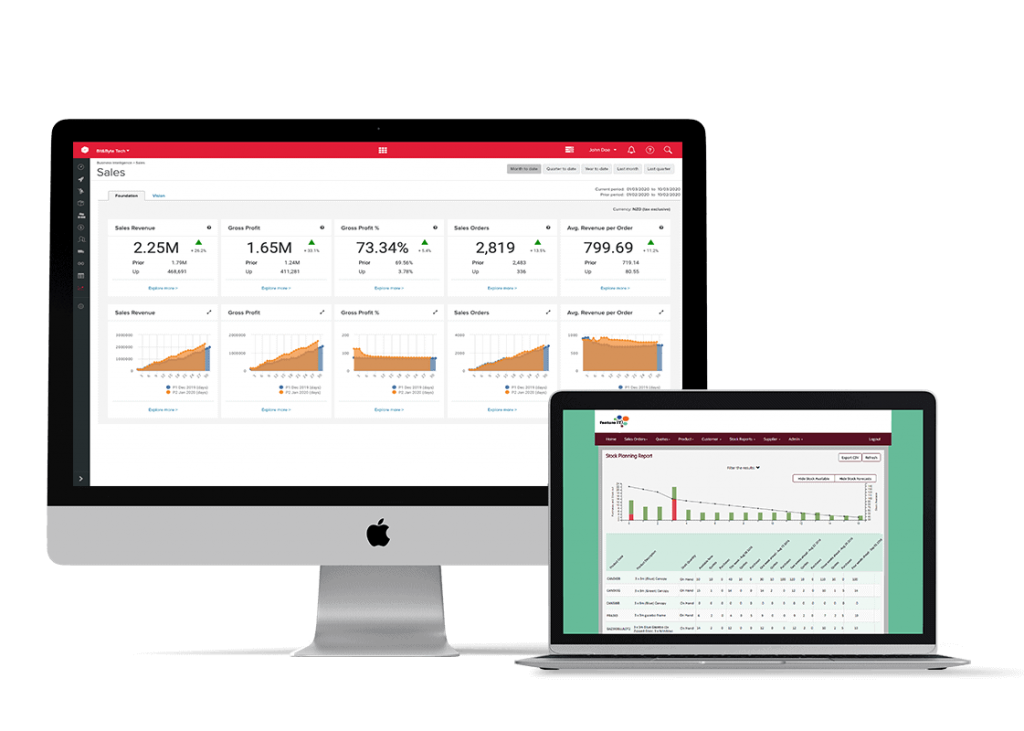 Unleashed Software App Marketplace FeatureIT screenshot