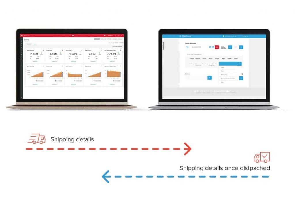 Unleashed Software App Marketplace Shiptheory screenshot