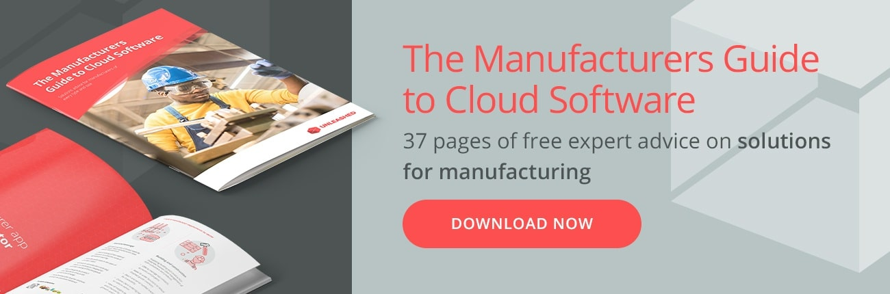 Going digital? Get the Manufacturing App Playbook and pick the right apps for planning, production, sales, CRM and more
