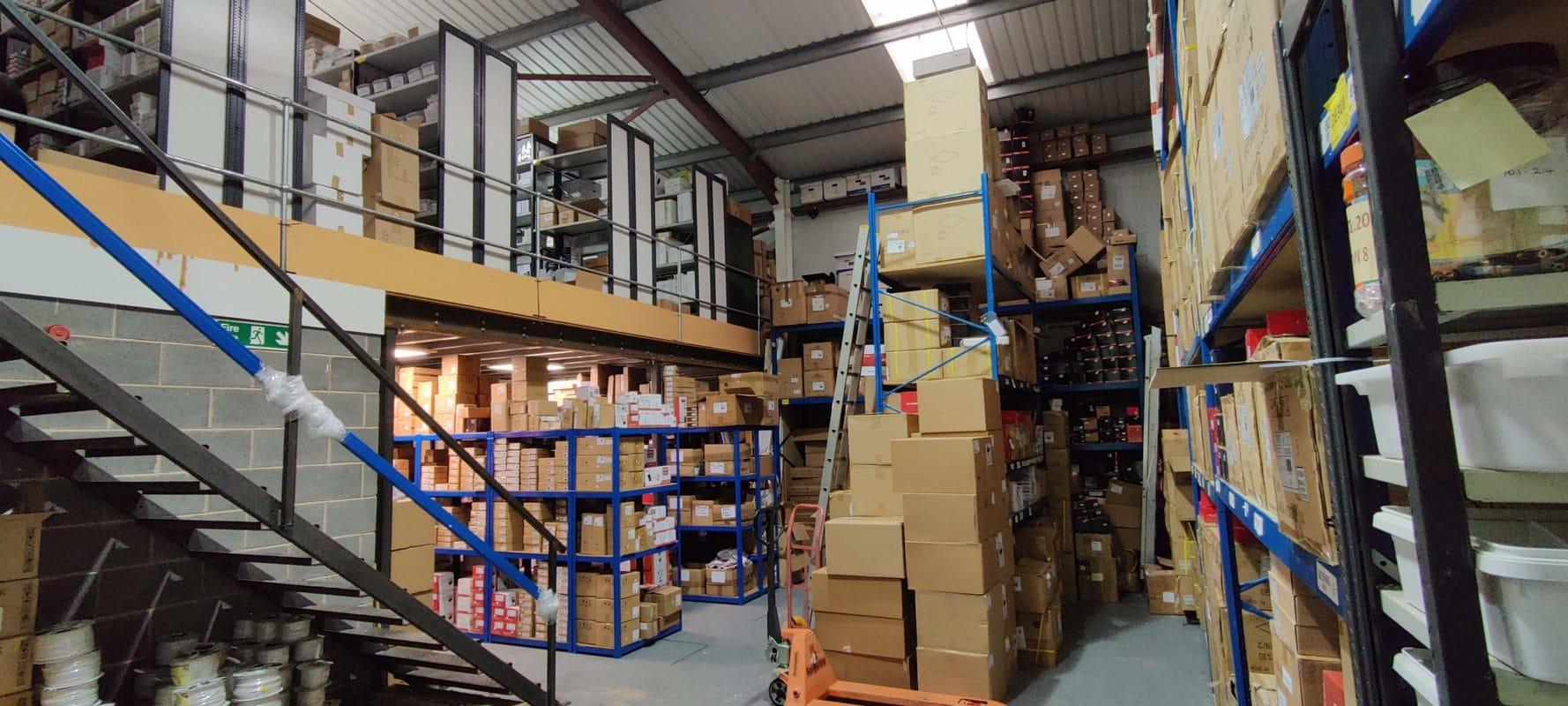 Traders Warehouse's warehouse