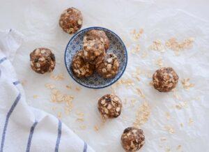 Protein snack balls.