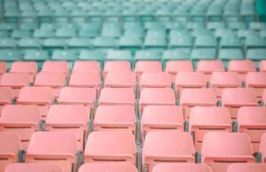 Rows and rows of chairs